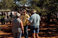 Guests and 2009 Farmers Day braai.