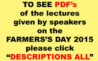 FARMERS` DAY LECTURES