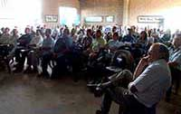 The 2009 Farmers day was well attended.