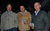 Friends from Standard Bank at the Farmers day braai