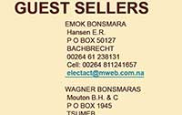 2009 Hartebeestloop Auction Guest Sellers<br>Go to DETAILS/DETAILS ALL for more information